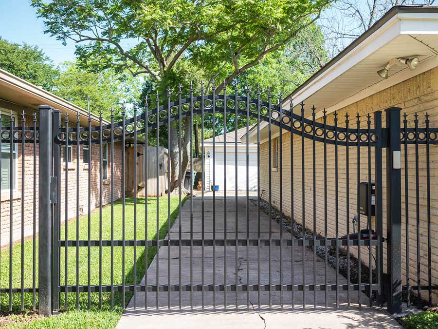 Wrought Iron Fence Houston Decorative Residential
