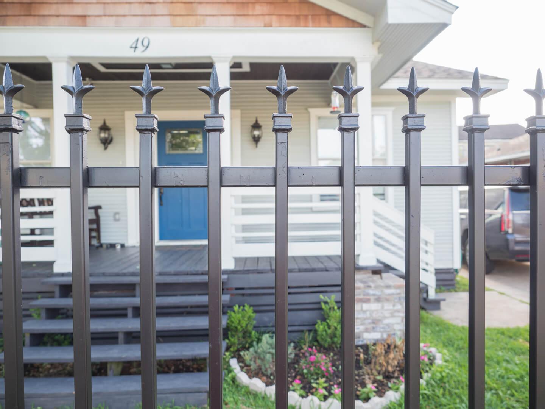 Wrought Iron Fence Houston Decorative Residential