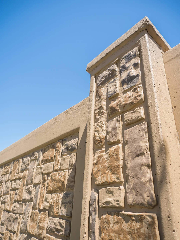 Industrial Fence Walls Aftec Precast Concrete Aber Fence