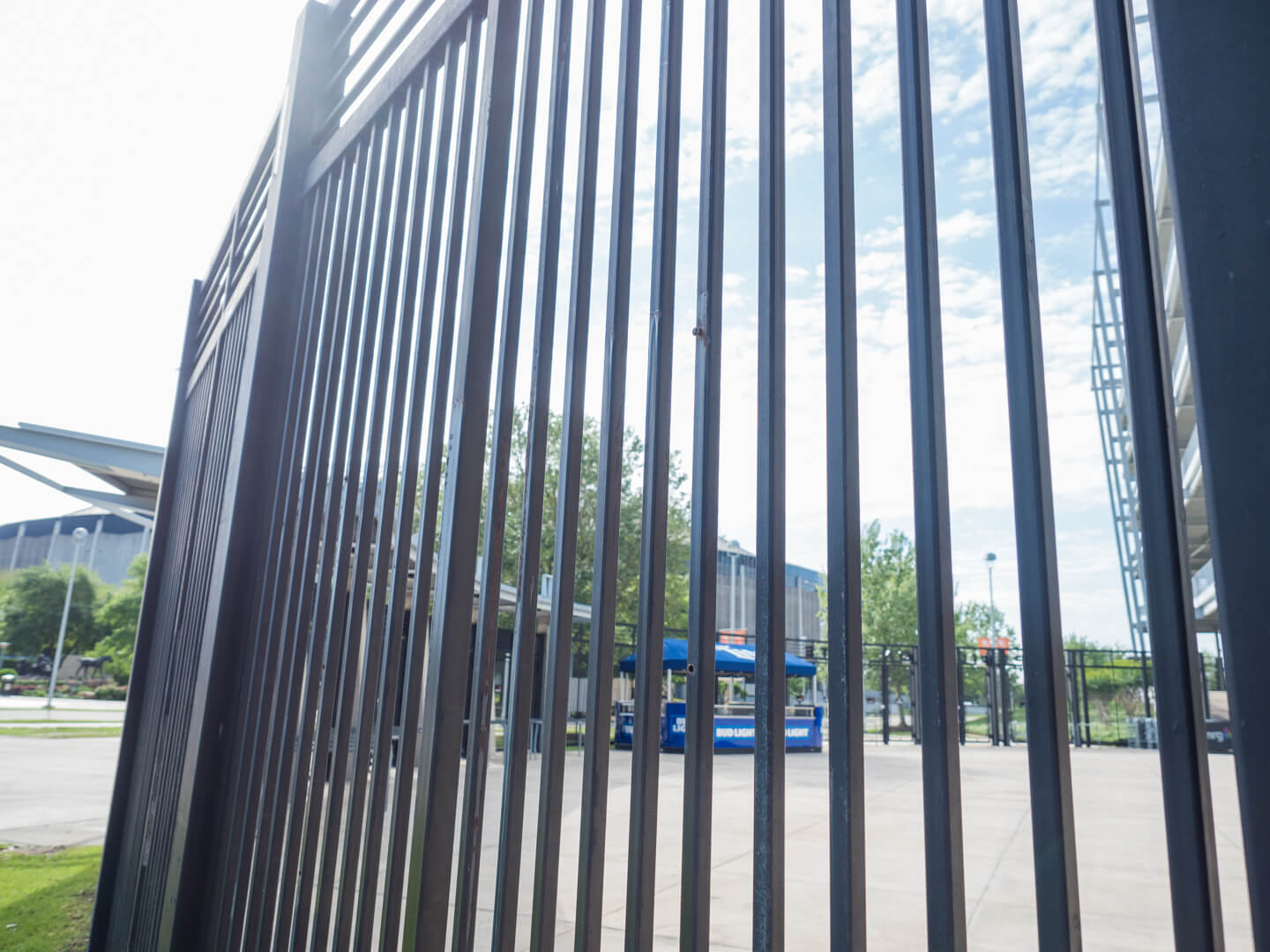 Commercial Wrought Iron Fence Installation Houston Aber